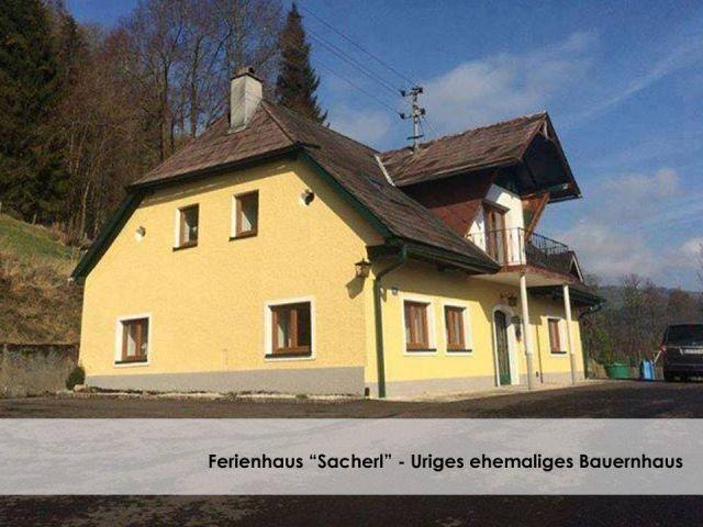 Ganzes Ferienhaus zur alleinigen Nutzung - ehemaliges kleines Bauernhaus.