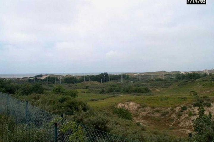 Ausblick auf Dünen und Meer