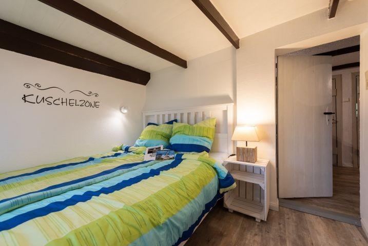 2tes Schlafzimmer, ebenfalls mit Doppelbett