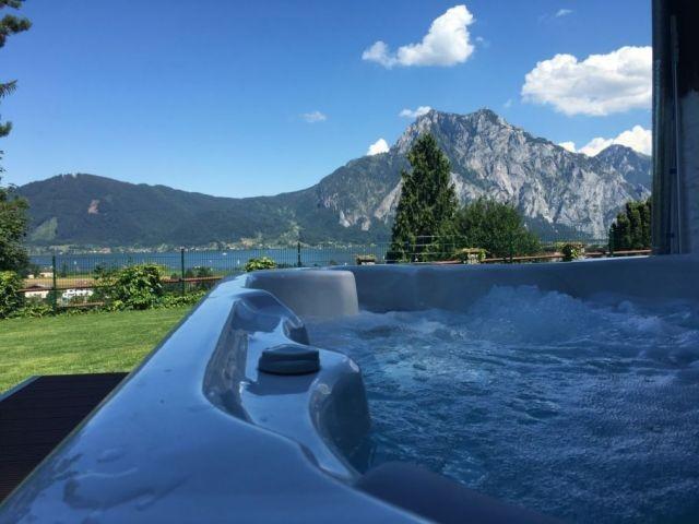 Whirlpool mit Panoramablick
