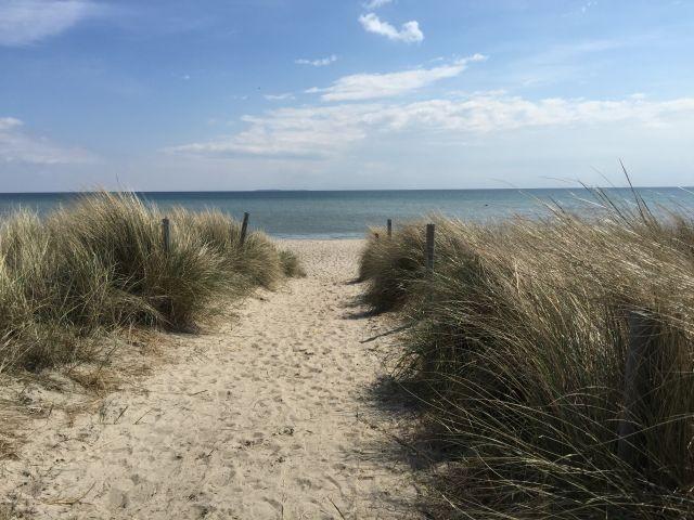 Strandabgang auf Rügen