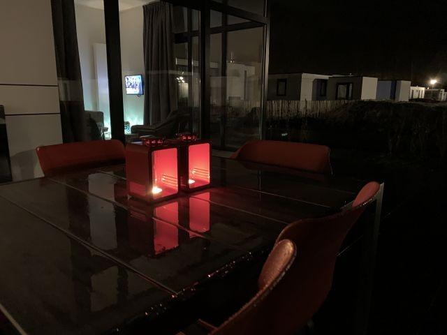 Abends auf der Terrasse