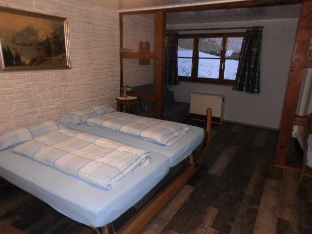 """Schlafzimmer 1 mit einem """"Schlittenbett"""