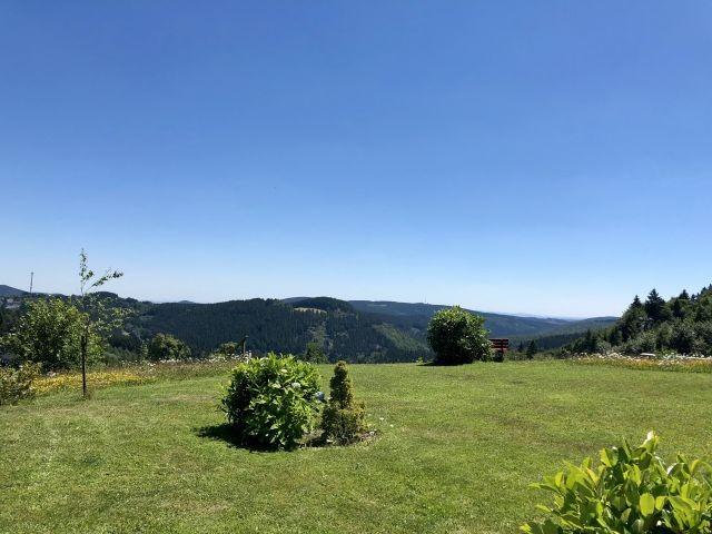 Garten mit Panoramablick
