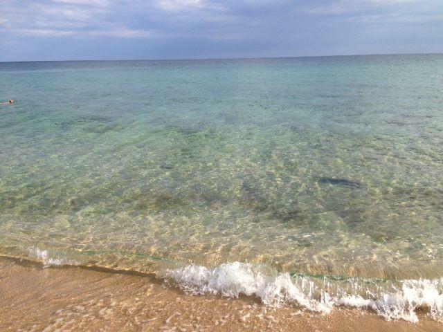 Das kristallklare Meer- nur 10 Autominuten entfernt