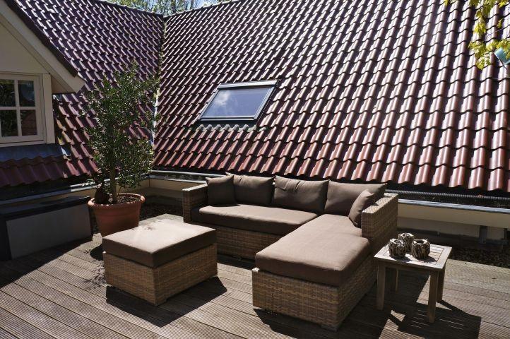 Dachterrasse mit Lounge-Ecke