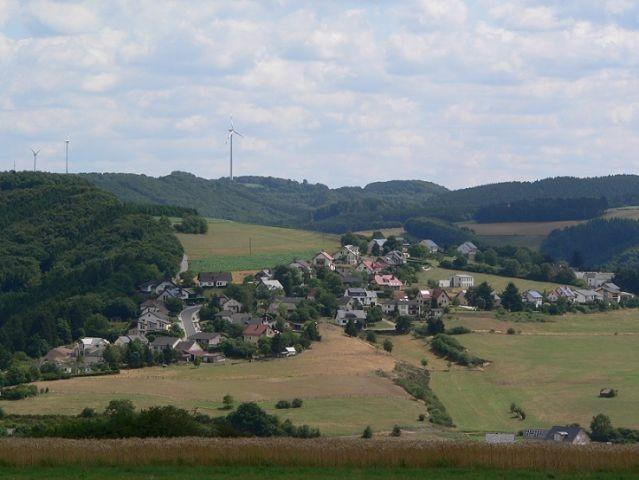 Blick auf Lierfeld / Lünebach
