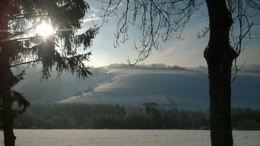 Winterlandschaft rund um Lierfeld