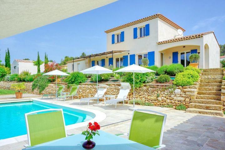 Ferienhaus mit Pool bei Aix-en-Provence in Südfrankreich