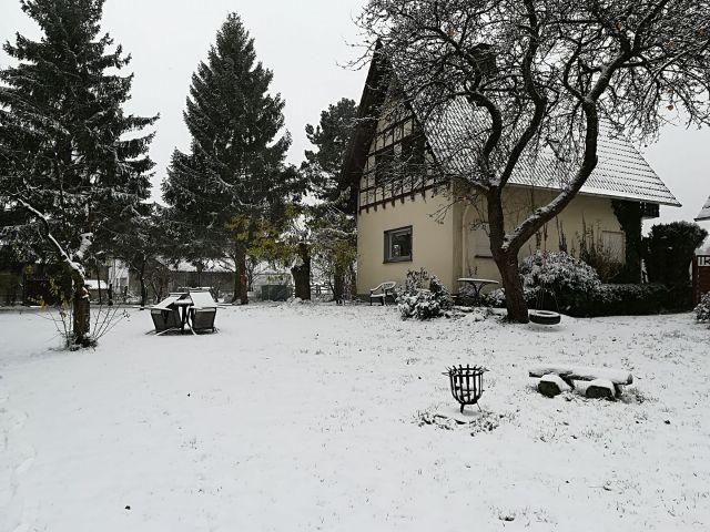 Das Grevenhus im Winter