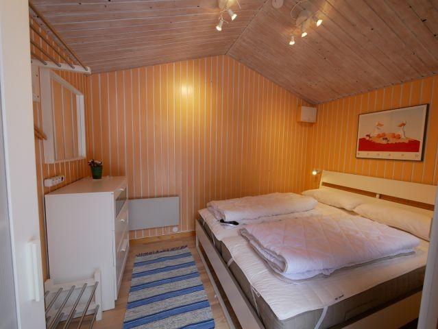separates Gästehaus mit Doppelbett