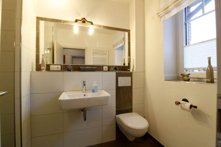 Gäste -Badezimmer im Erdgeschoss