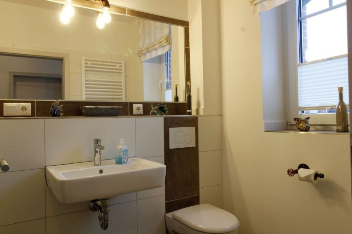 Gäste -WC im Erdgeschoss