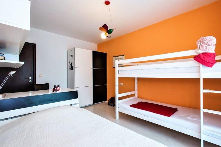 Schlafzimmer Nr. 4 mit Etagenbett und Einzelbett