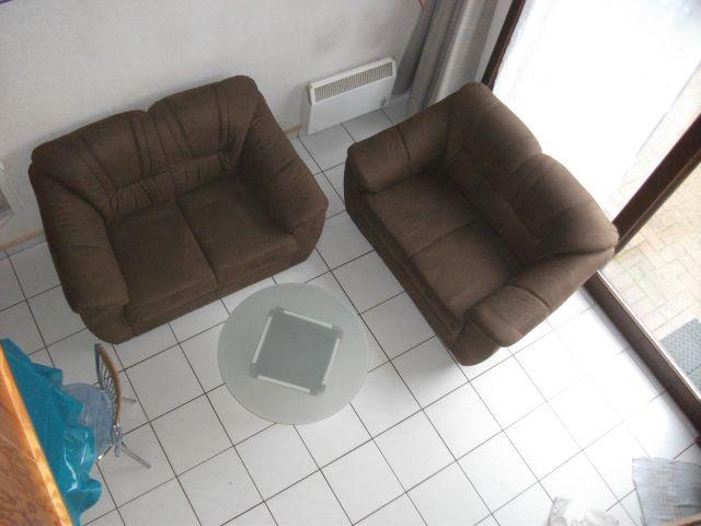 Blick von der Empore auf Wohnraum