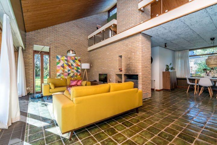 Das gemütliche Wohnzimmer (im Vintage-Stil)