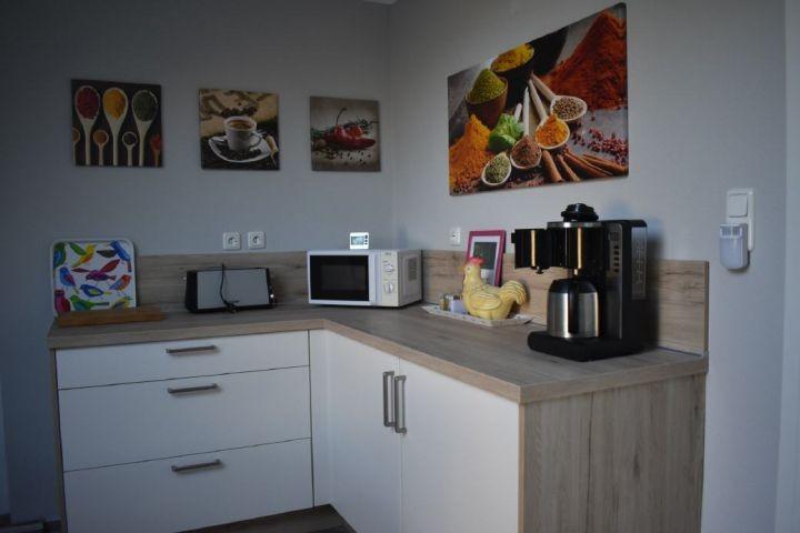 Unsere hochwertige Küche wurde im Januar 2019 neu eingebaut