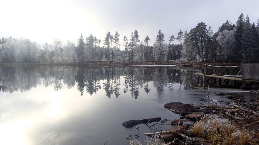 Als ob die Welt still steht - Eindrücke aus dem Winter