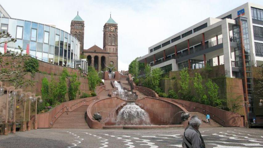 Schlossbrunnen in Pirmasens