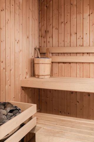 Sauna im Erdgeschoß
