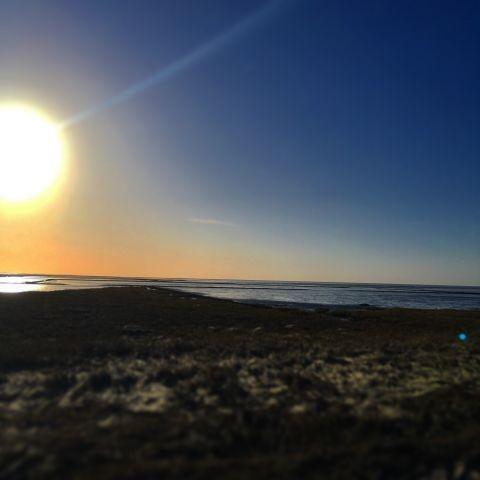 Sonnenuntergang über dem Watt
