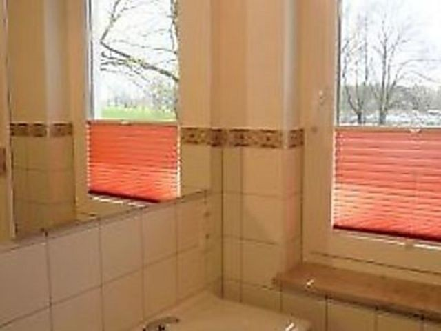 Dusche/WC mit Fenster