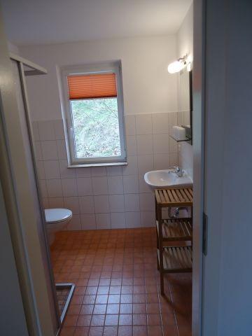 Dusche/WC mit Tageslicht