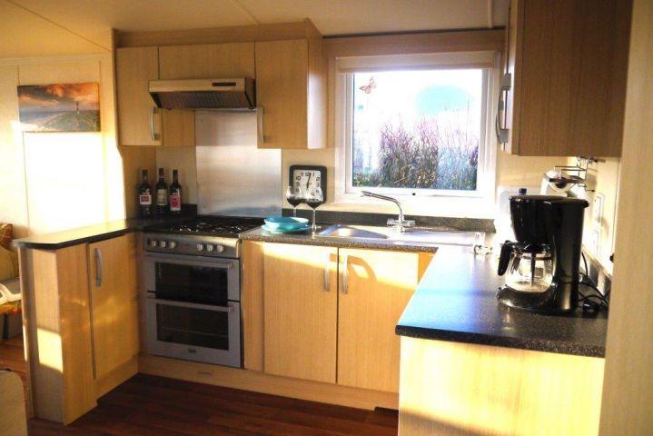 Küche vom Eingang betrachtet