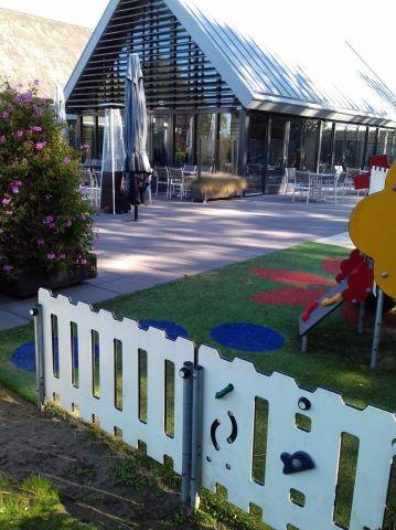 Spielplatz direkt am Restaurant