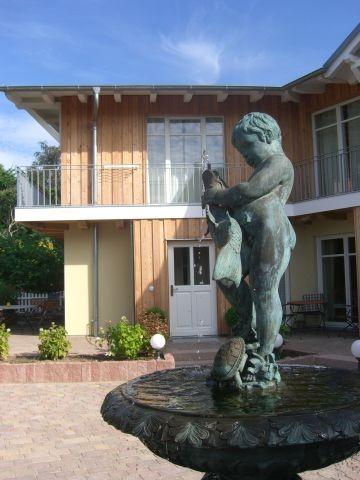Innenhof mit Springbrunnen