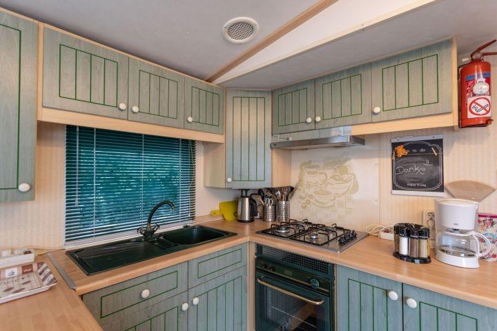 Küche, vollständig ausgestattet