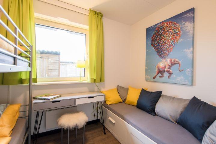 Dreibettzimmer, Etagenbett 190x200, 1 Einzelbett