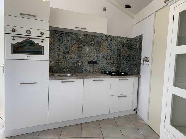 neue Küche mit SMEG Kombi Backofen mit Mikrowelle