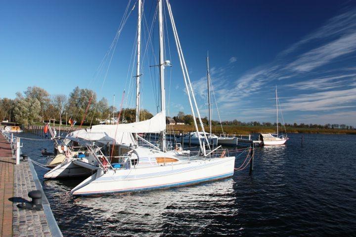 Sportboothafen Puddemin - fußläufig zu erreichen