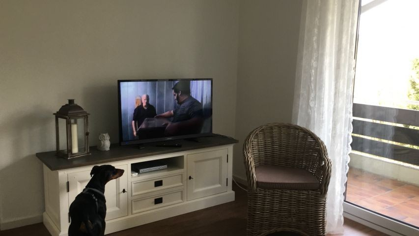 TV Ecke im Wohn/Schlafzimmer