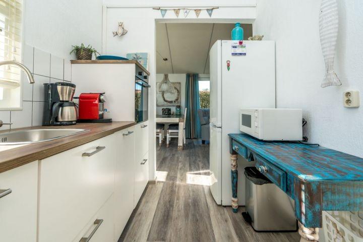 Die offene Küche mit allem Komfort