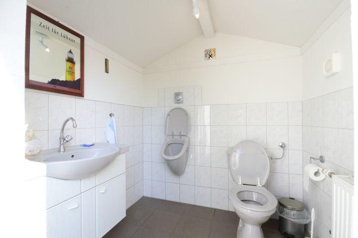 Zusätzliches WC im Garten