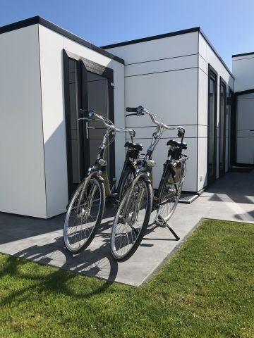Fahrräder vorhanden...