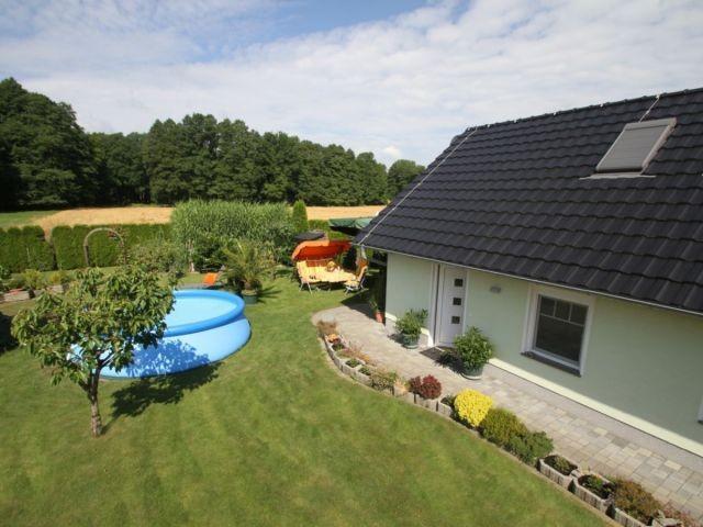 Ihr Haus aus der Vogelperspektive - Ferienhaus Babow