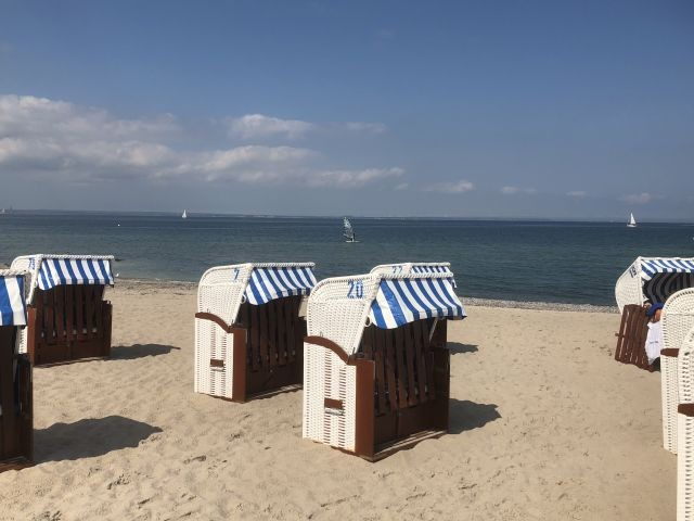 Strand Binz 200 m entfernt