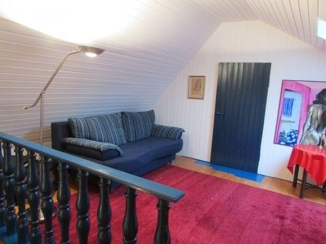 Wohn/Schlafzimmer mit Schlafcouch