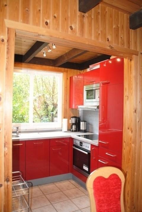Küche vom Extertal-Ferienhaus IXI
