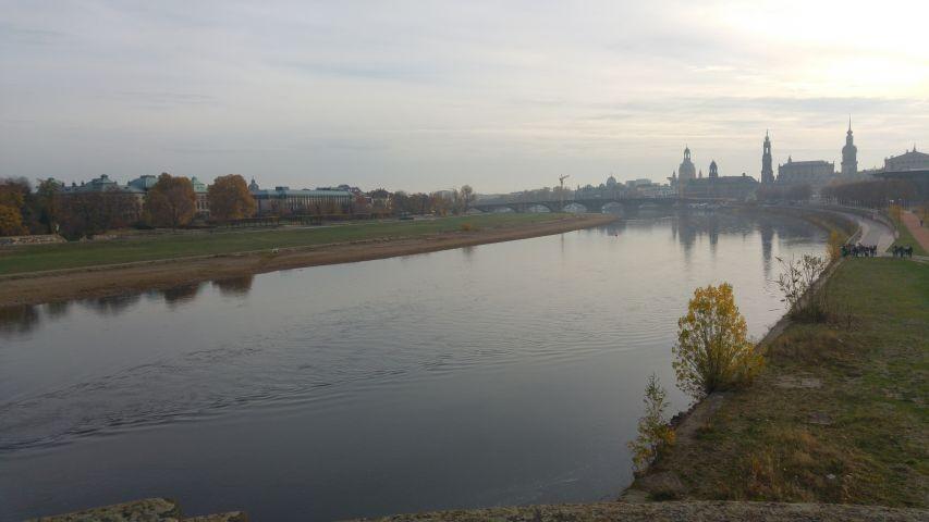 Silhouette Dresdener Altstadt