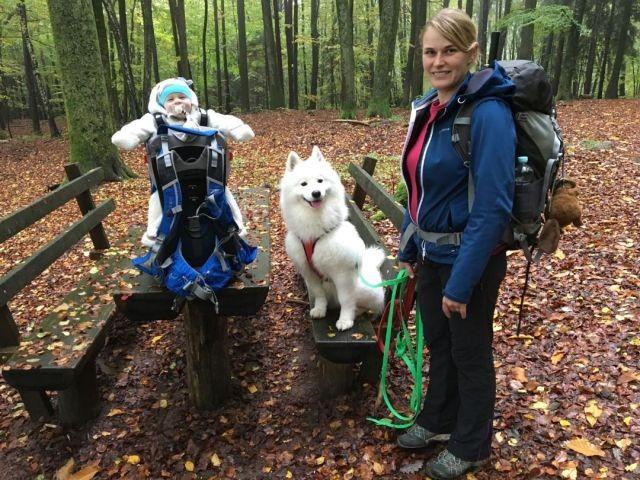 Wanderung mit Kind und Hund