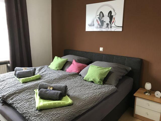 Schlafzimmer 1 Doppelbett