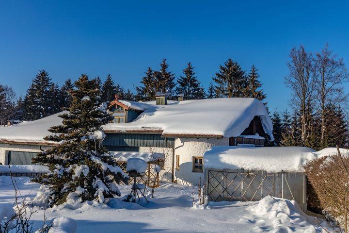 Doddels Landhaus im Schnee