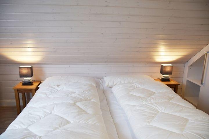 Doppelbettenschlafzimmer II Ferienhaus Sorgenfrei