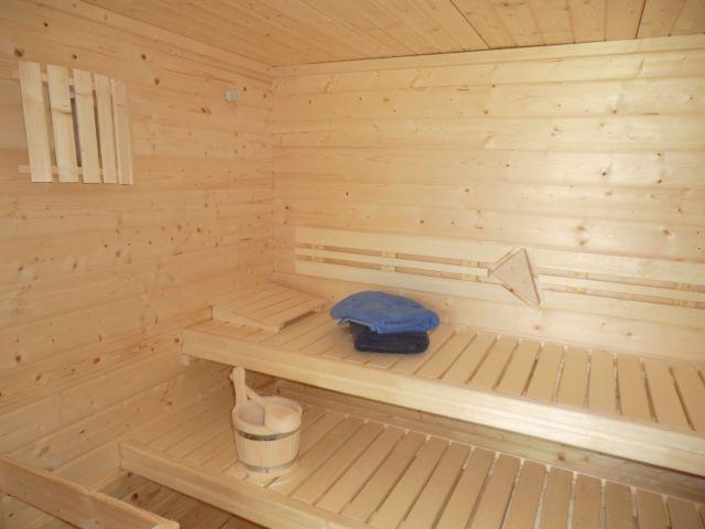Liegen Sauna