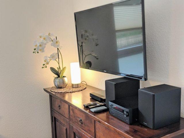 TV und Musikanlage