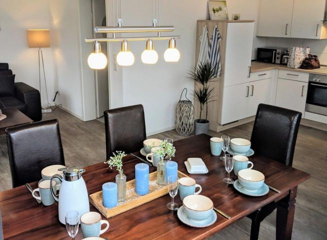 Essbereich - Küche - Wohnzimmer